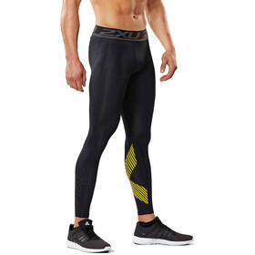 2XU Accelerate Compression Tights Men, black/arrow stripe nero